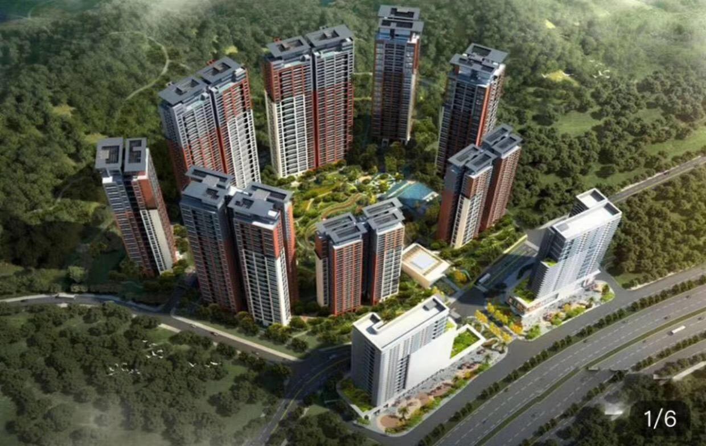 龙华7栋花园房 分期2年 首付5成 清湖地铁口500米带地下车库
